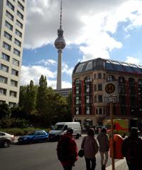 写真:テレビ塔の外観