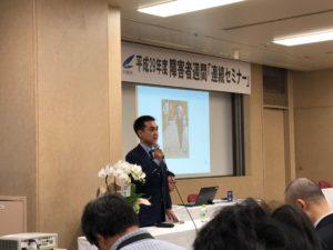 写真:講演される大胡田氏