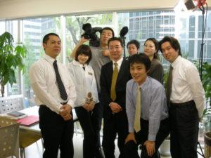 写真:めざましテレビ記念写真