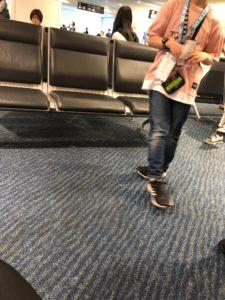 写真:子どもの一人旅