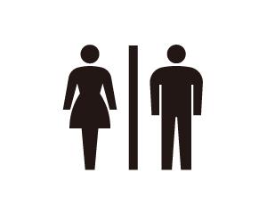 トイレを表すピクトグラム