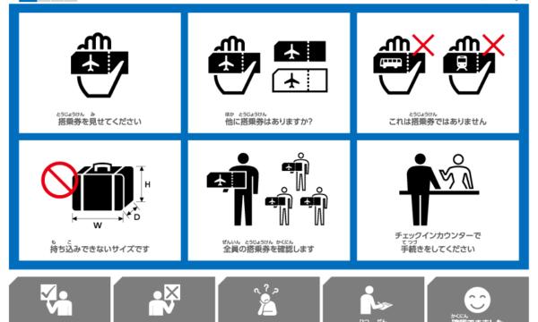 障害者向け成田空港コミュニケーションツール