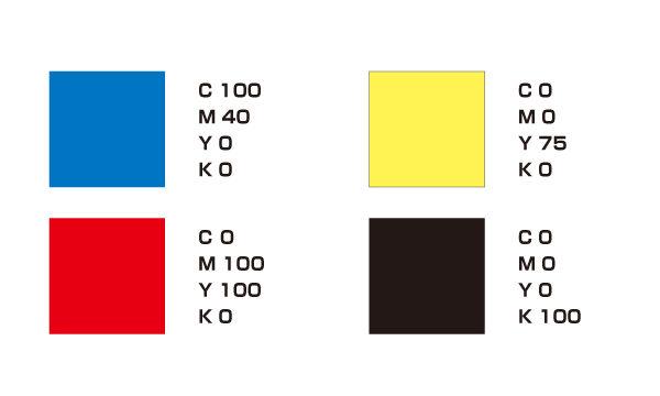 ポスターに使われた色の一覧