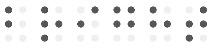 問題:点字はなんと読む?