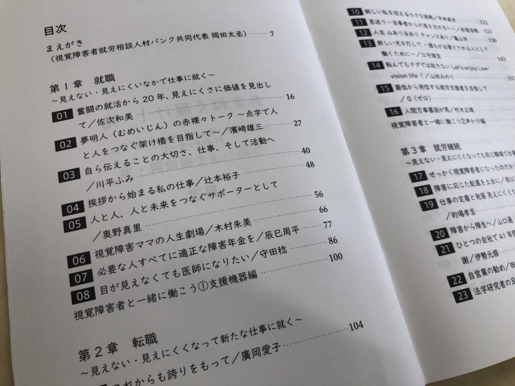 画像:本文4-5ページ 目次