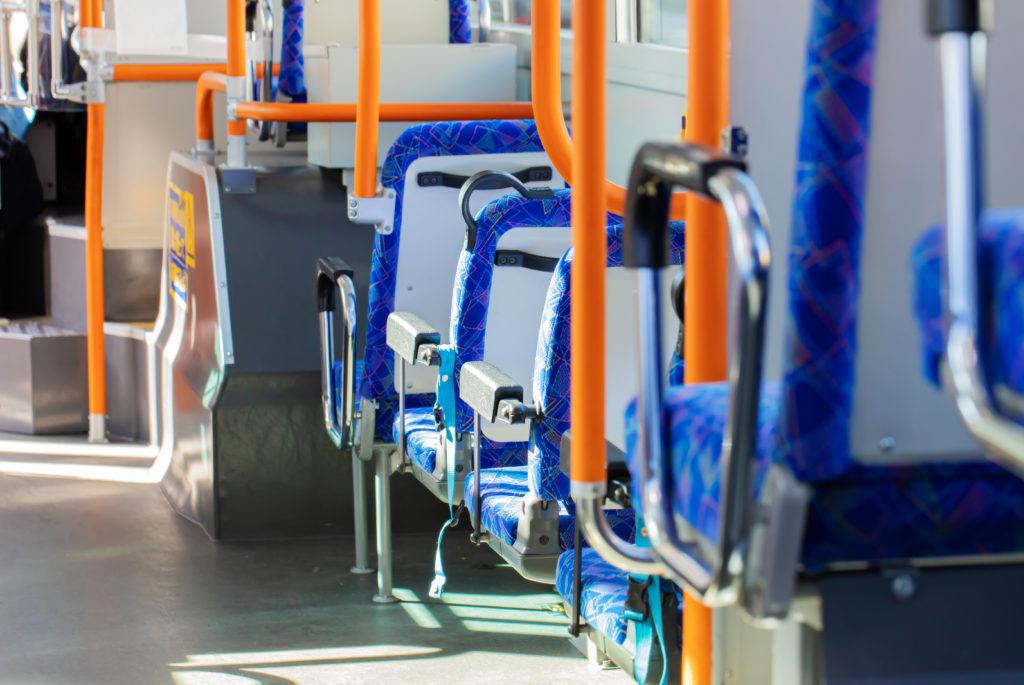 イメージ画像:バスの座席